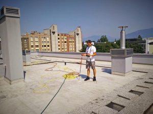 Gradnja ravne strehe