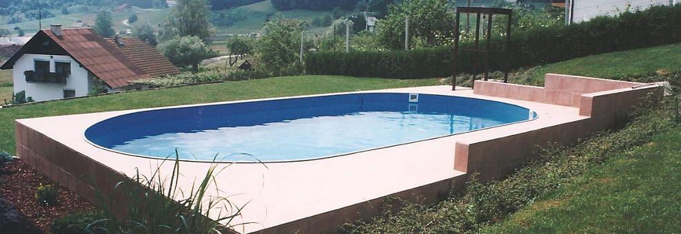 Montažni vrtni bazeni