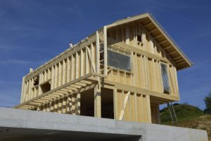 Gradnja lesenih hiš cene