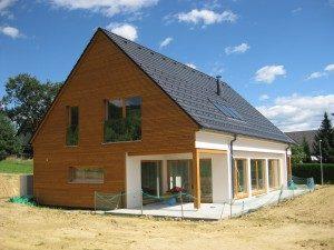 Lesene hiše cene