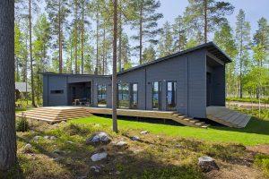 Lesene hiše iz brun
