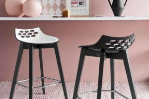 Barski stol za kuhinjo