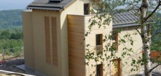 lesena hiša marles