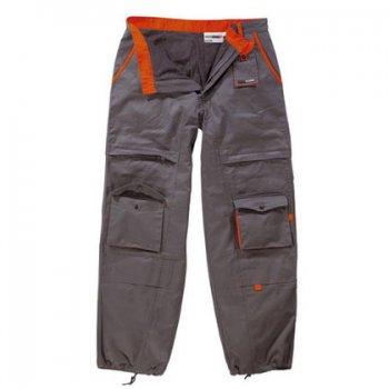 Delavnske hlače z naramnicami