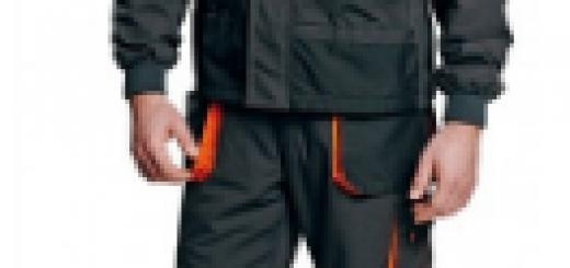 Zaščitna dežna delovna obleka
