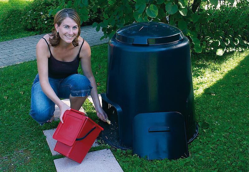 vrtni kompostnik