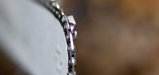 Brušenje verige motorne žage