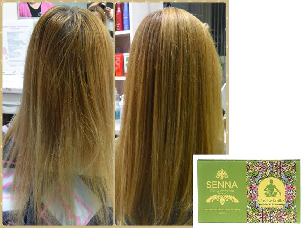 Barvanje s kano na abrvane lase