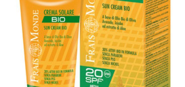 krema za sončenje za občutljivo kožo