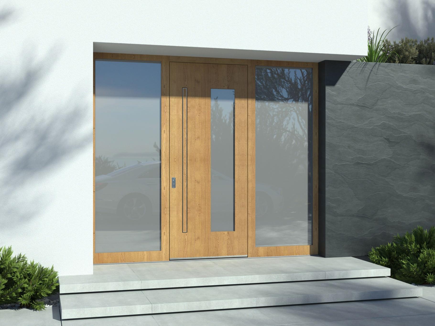 Masivna vhodna vrata