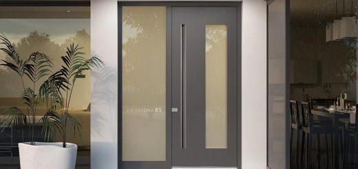 Aluminij vhodna vrata