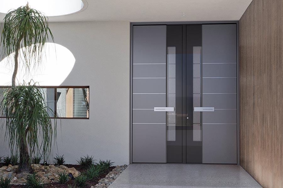 Vhodna vrata aluminij
