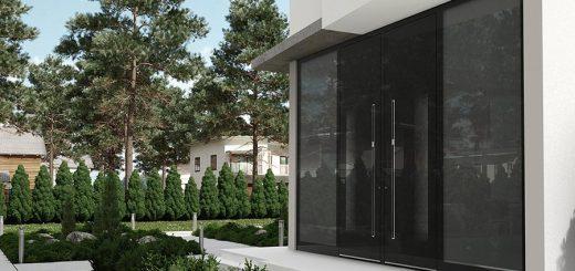 Vhodna vrata aluminijasta