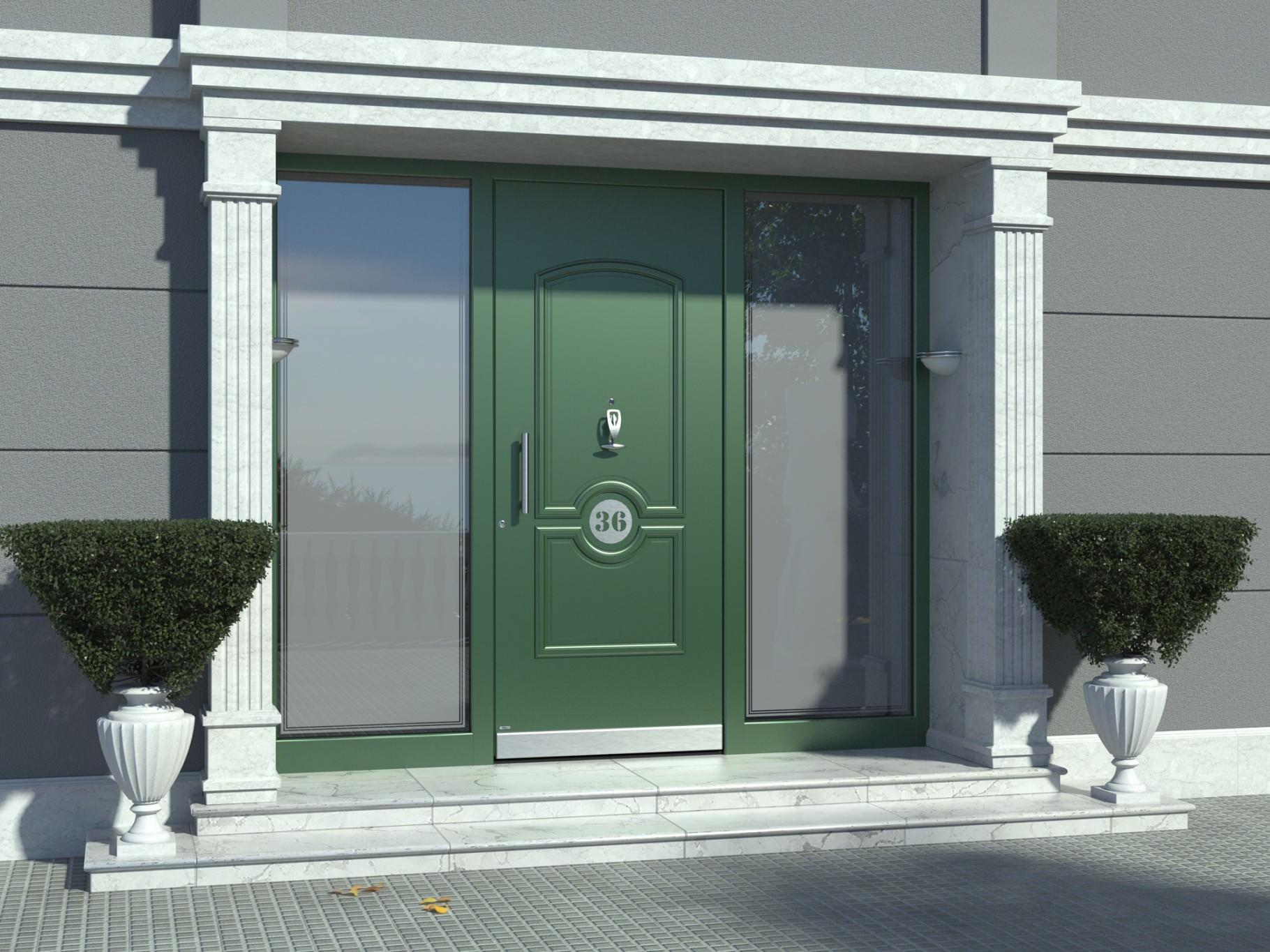 Vgradnja vhodnih vrat