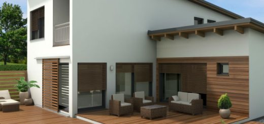 moderni stil hiše marles