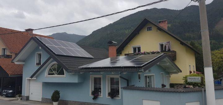 Sončna elektrarna za samooskrbo