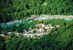 Camping Soča Slowenien