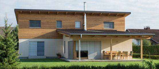 gradnja lesene hiše marles