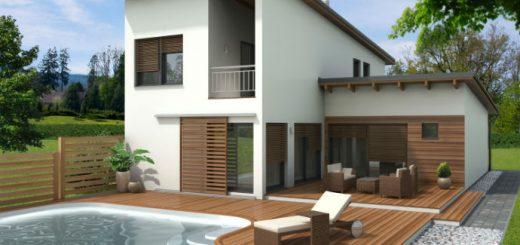 gradnja moderne hiše