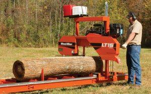 tračna žaga za les