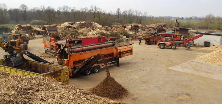 Center za predelavo biomase