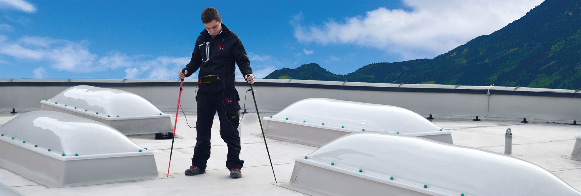 Izvedba pohodne ravne strehe