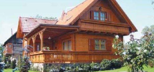 Lesne hiše cena