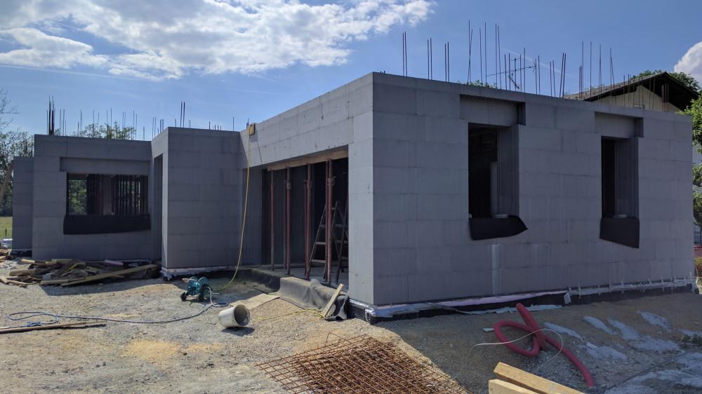 Gradnja zidane hiše