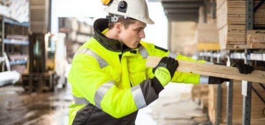 Zasčitna delovna obleka