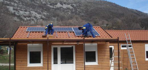 Sončna elektrarna za vikend