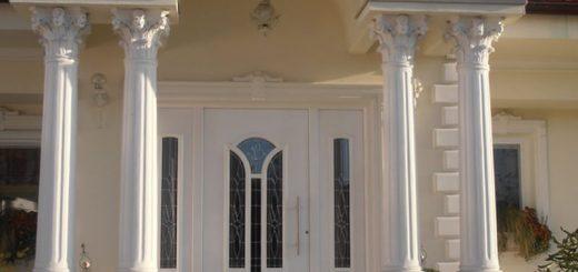 Prelepi okrasni betonski stebri