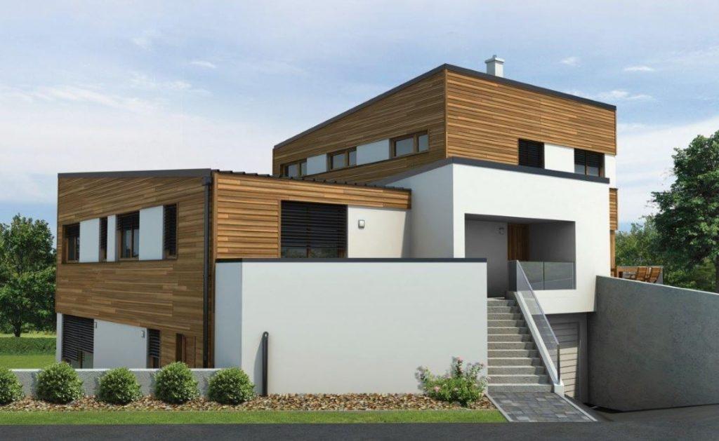 Gradnja hiše iz lesa