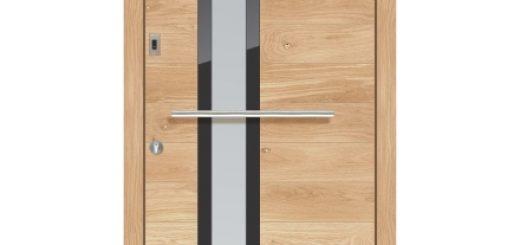 Lesena vhodna vrata za stanovanje