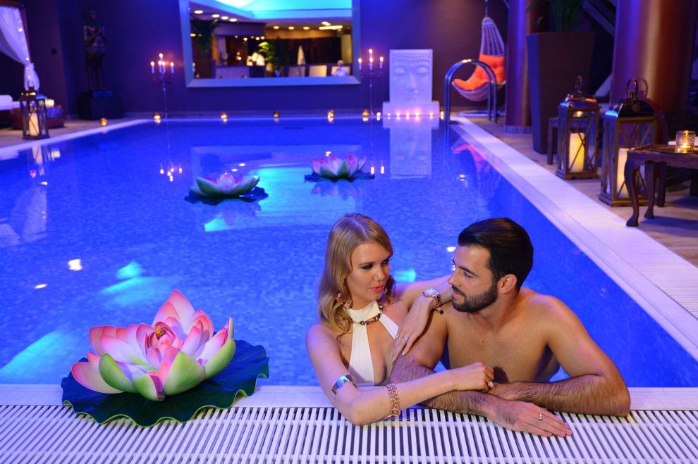 Plavanje v Hotelu Union
