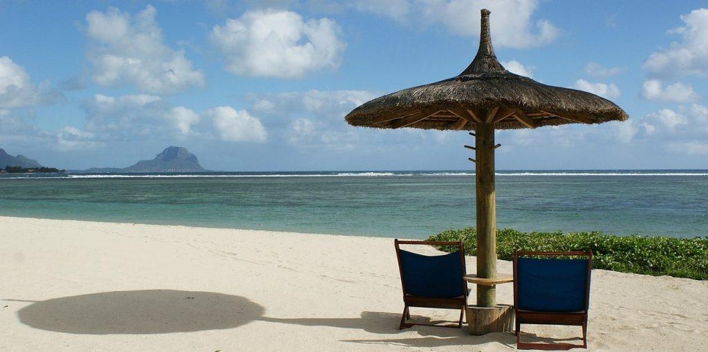 Plaža rezervirana za dva