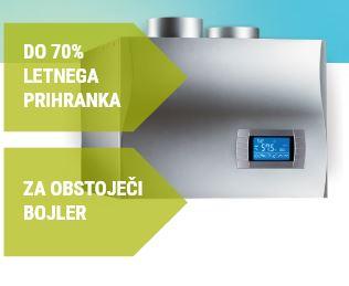 Stenske toplotne črpalke za sanitarno vodo