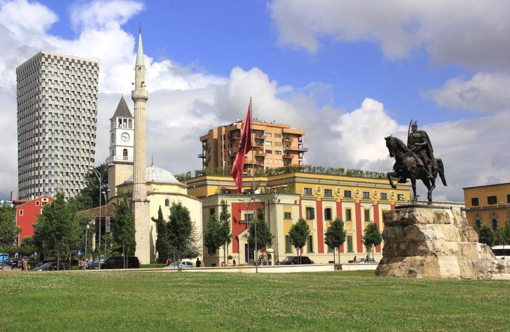 počitnice Albanija