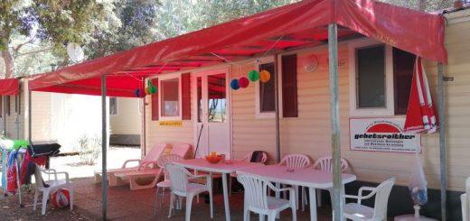 Mobilne hiške v kamp naselju Medulin Kažela
