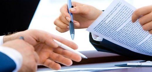 podpis izročilne pogodbe