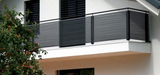 Kovinske balkonske ograje
