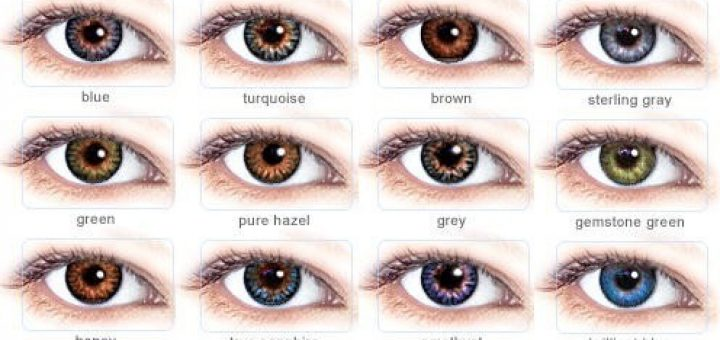 barvne leče za oči