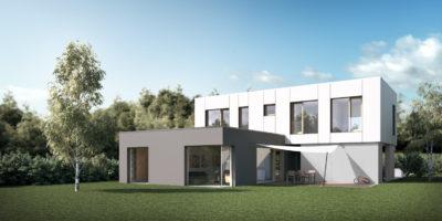 Sodobna gradnja modernih hiš na ključ