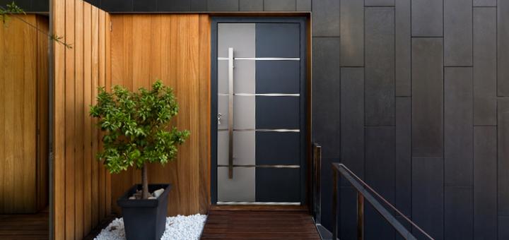 Elegantna alu vhodna vrata